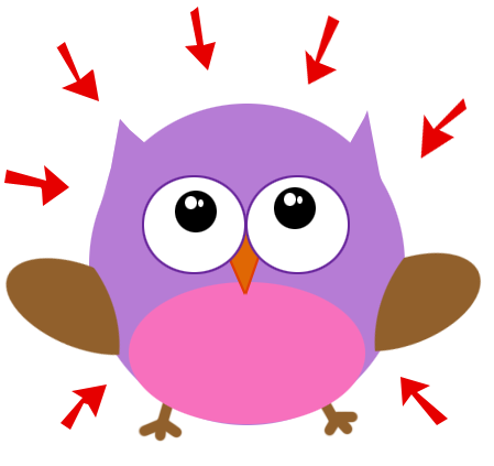 sip and spin owl feeling air pressure
