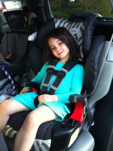 Britax Fontier 90 Car Seat in action nuspin kids