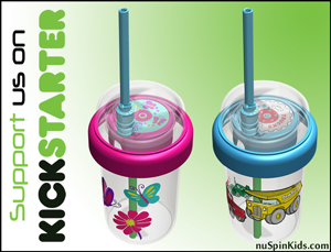 Support nuSpin Kids and their Sip & Spin cup on Kickstarter
