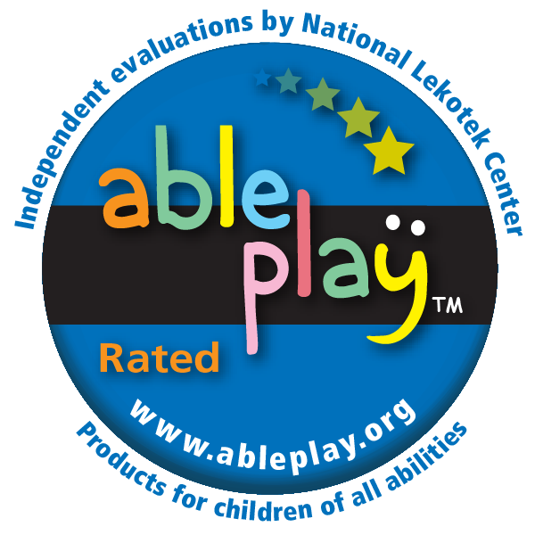 Able Play Rated Seal for nuSpin Kids Products